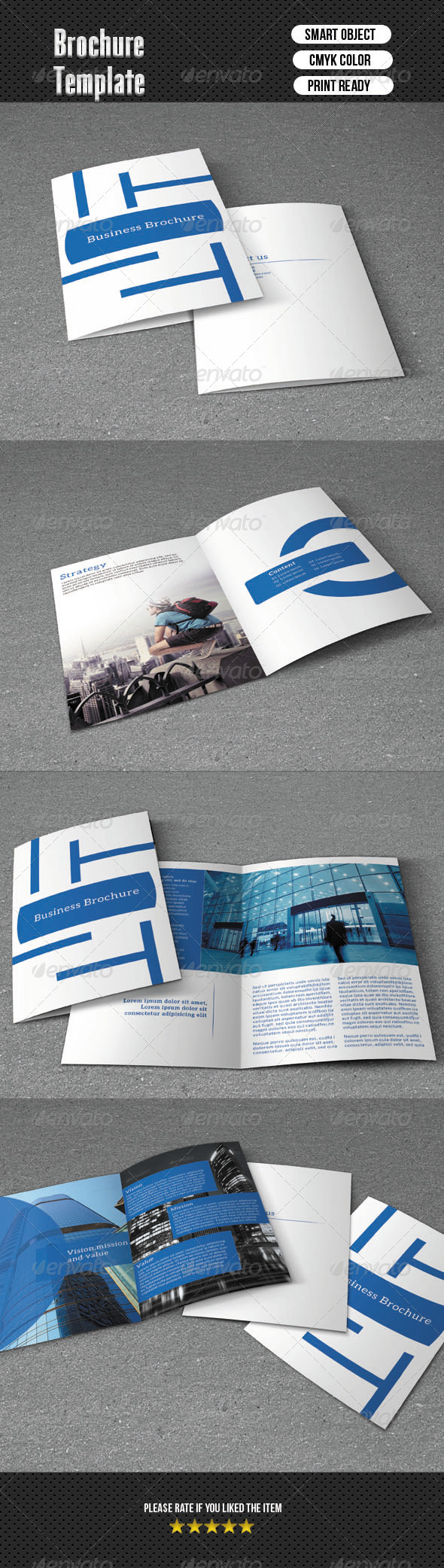 GraphicRiver Bifold Brochure-Business 8 Pages 6421431