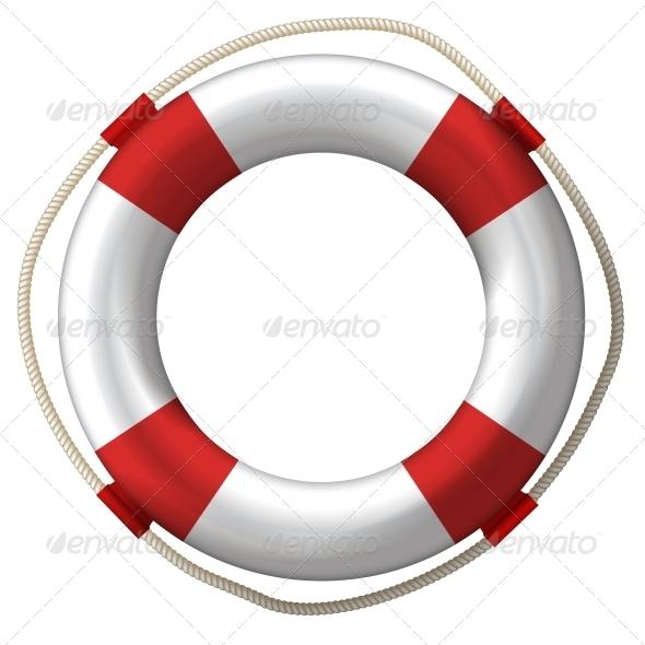 GraphicRiver Lifebelt Lifebuoy 6421875