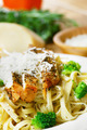 Pasta with fried chicken - PhotoDune Item for Sale
