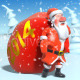 Santa Claus Walks with Big Bag. 3d Animation. - VideoHive Item for Sale