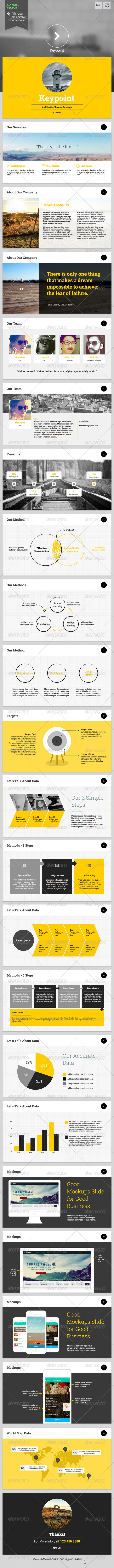 GraphicRiver Keypoint Keynote Template 6423267