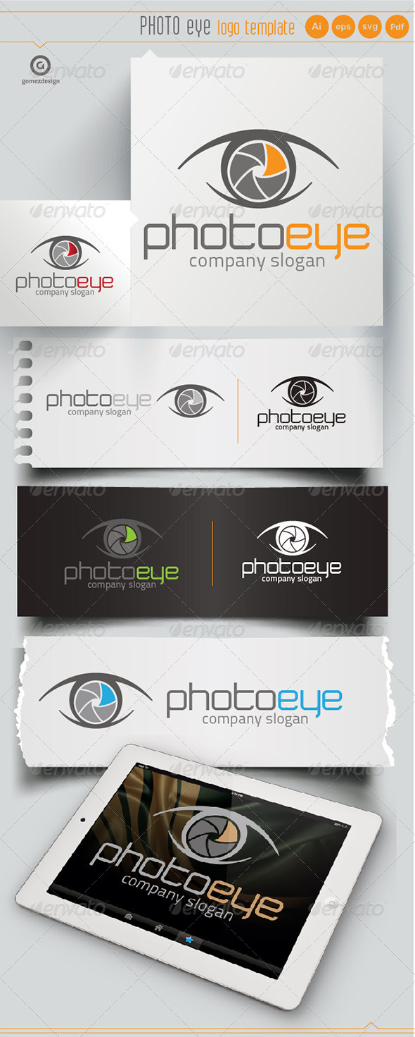 Photo Eye - Logo Templates