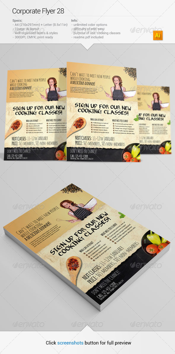 GraphicRiver Corporate Flyer 28 6424352