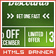 Green Christmas Banner - CodeCanyon Item for Sale