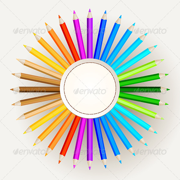 GraphicRiver Pencil Colors 6426854