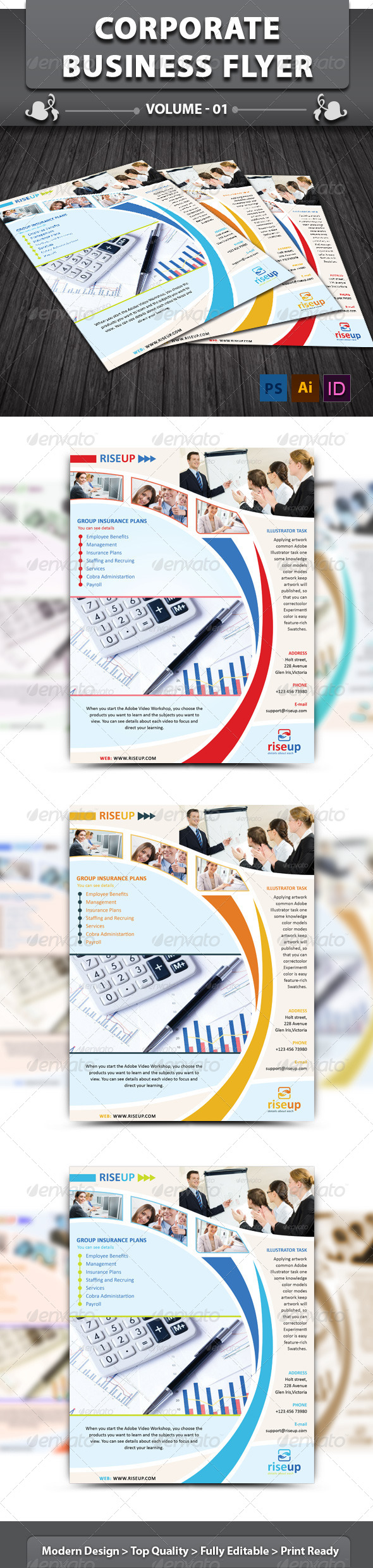 Corporate Business Flyer | Volume 1 - Corporate Flyers