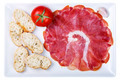 plate of cold cuts ham sausage typical in Spain - PhotoDune Item for Sale