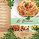 Garden Cafe Menu - GraphicRiver Item for Sale