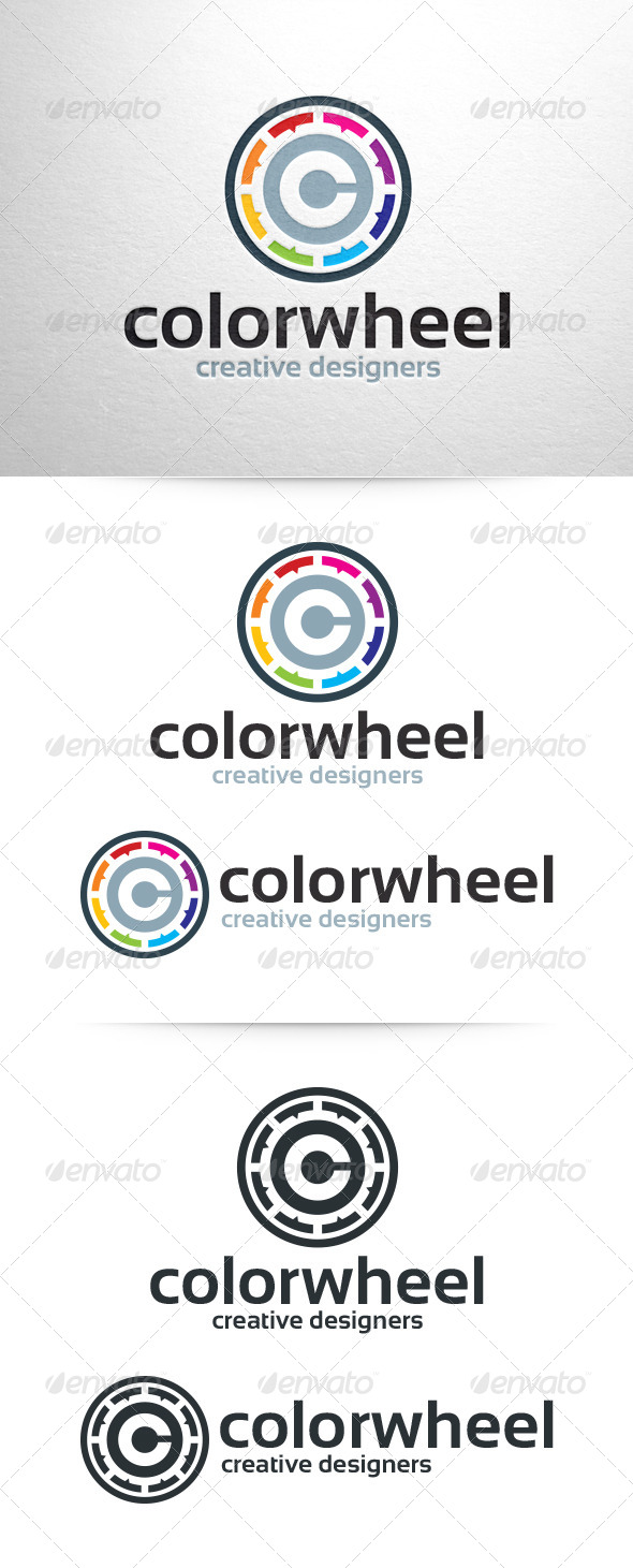 GraphicRiver Color Wheel Logo Template 6428572