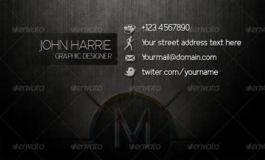 GraphicsPower Business Card
