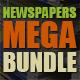 10 Newspapers Mega Bundle - GraphicRiver Item for Sale