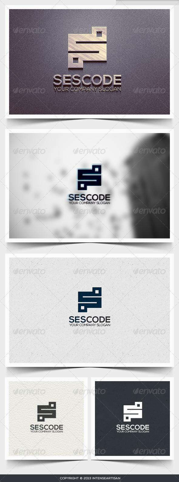 GraphicRiver Sescode Logo Template 6429041