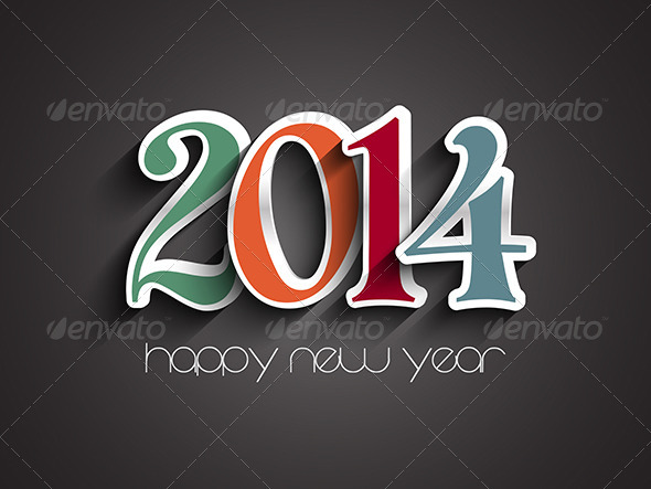 GraphicRiver Happy New Year Background 6429314