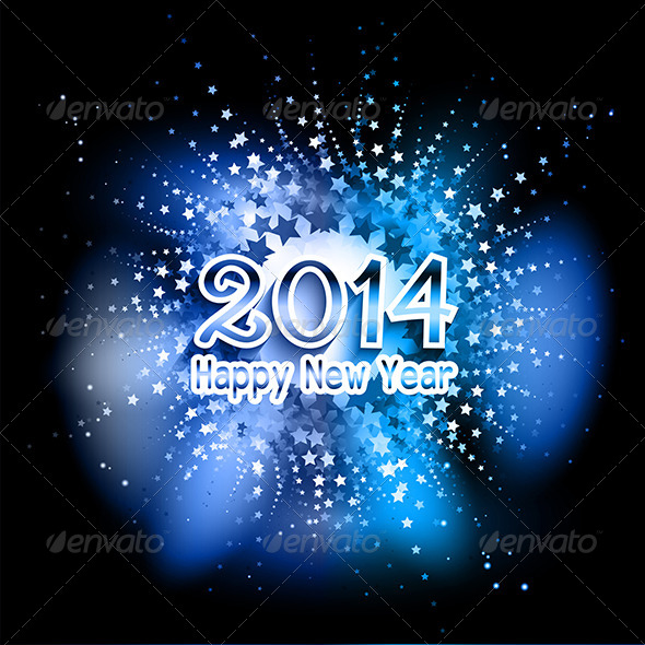 GraphicRiver Happy New Year Background 6429362