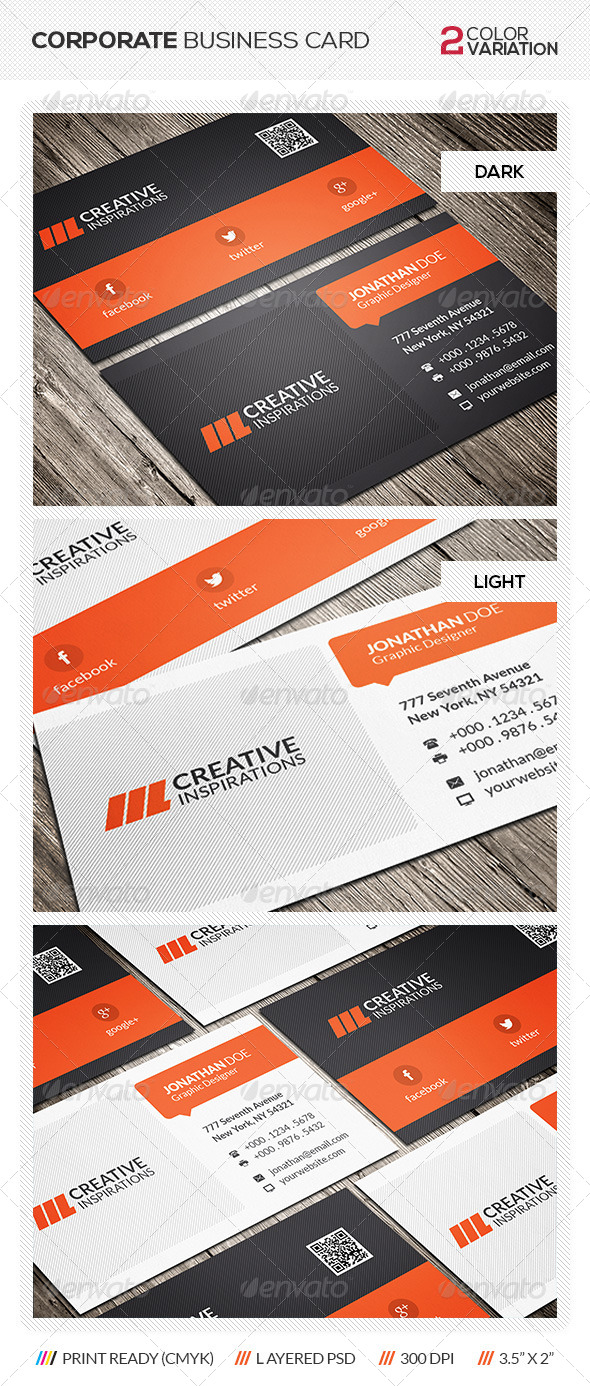 GraphicRiver Modern Business Card 6429487