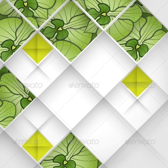 GraphicRiver Abstract 3D Geometrical Design 6430167