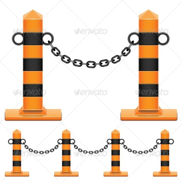 GraphicRiver Vector Column with Chain 6430698