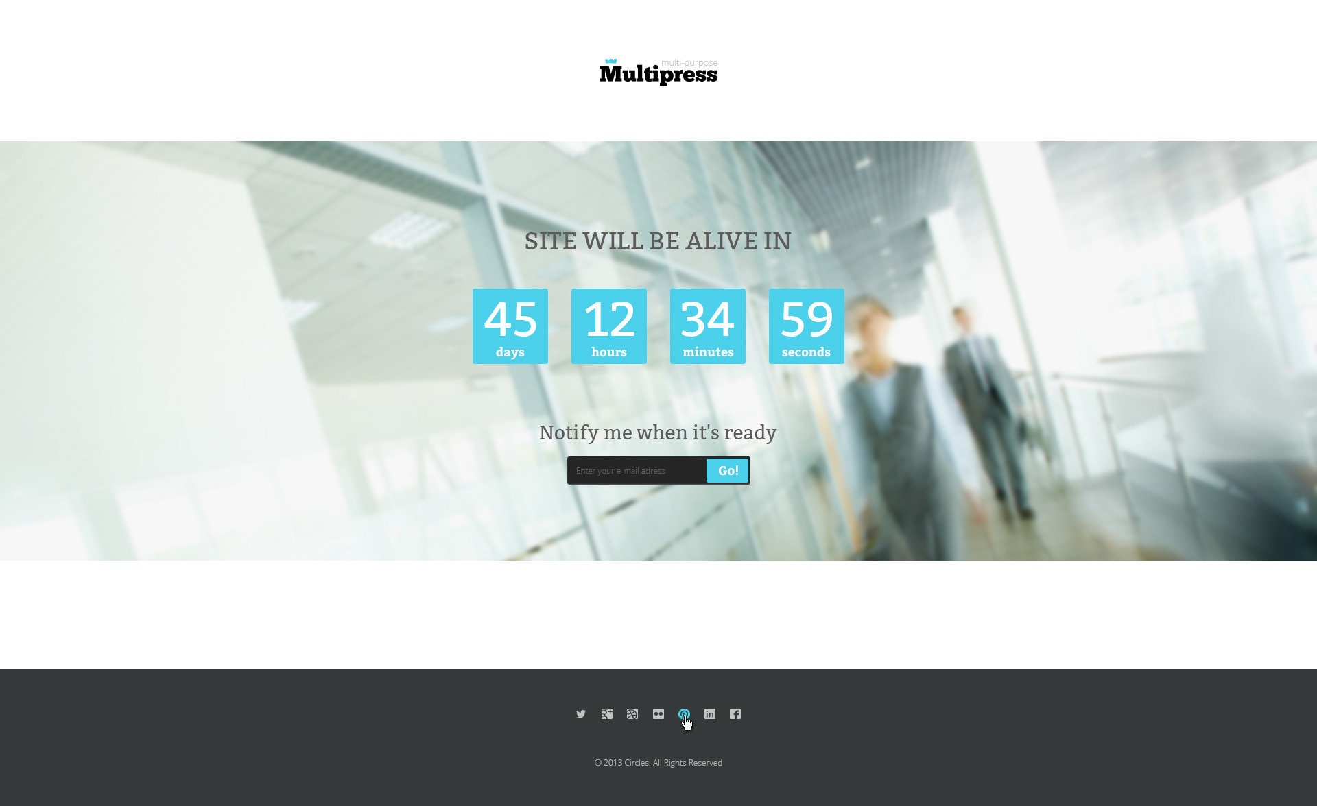 Multipress - PSD Template