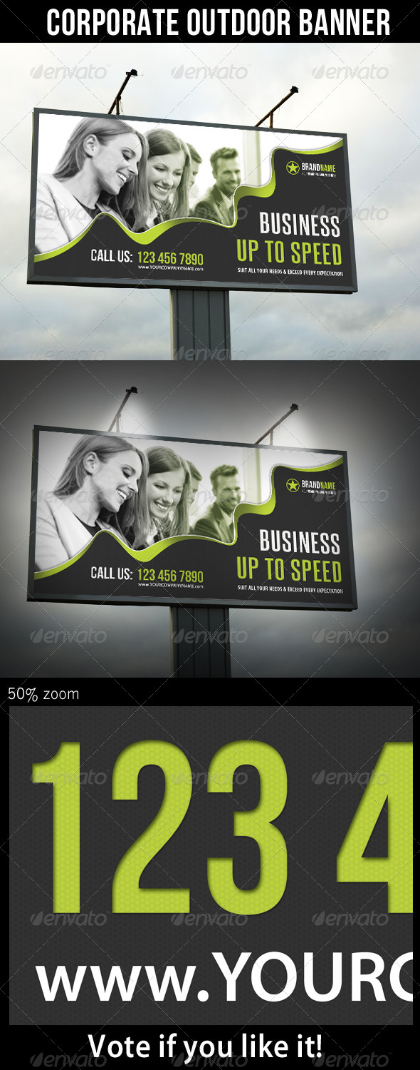 GraphicRiver Corporate Outdoor Banner 22 6431425