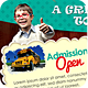Junior School Promotion Flyers Vol 3 - GraphicRiver Item for Sale