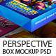 Perspective Box Mockup V1 - GraphicRiver Item for Sale