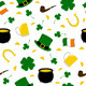 Seamless Saint Patrick's Background - GraphicRiver Item for Sale