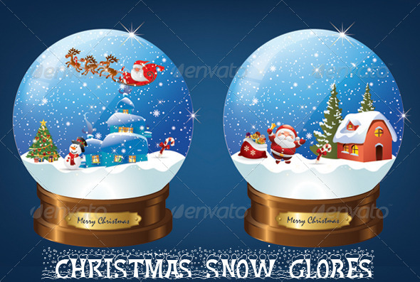 GraphicRiver Christmas Snow Globe 6429594