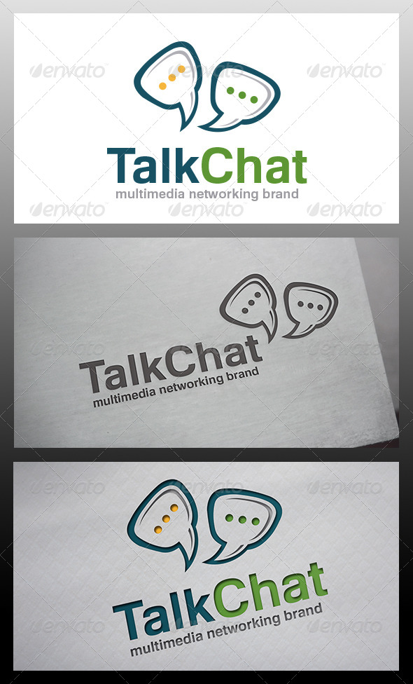 GraphicRiver Chat Logo 6433505