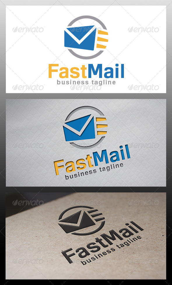 GraphicRiver Fast Mail Logo 6433545