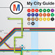 Infographics My City Guide -Graphicriver中文最全的素材分享平台