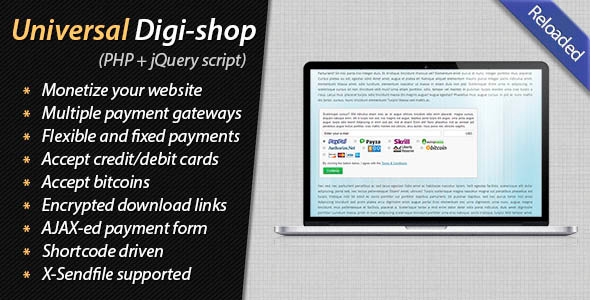 Universal Digital Shop - CodeCanyon Item for Sale