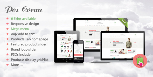 Corau - Fashion Responsive Prestashop Theme - Fashion PrestaShop