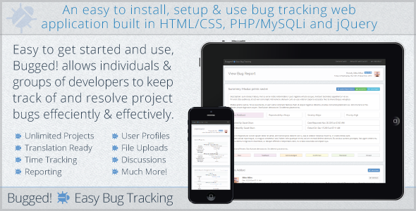 CodeCanyon Bugged Easy Bug Tracking 6436416