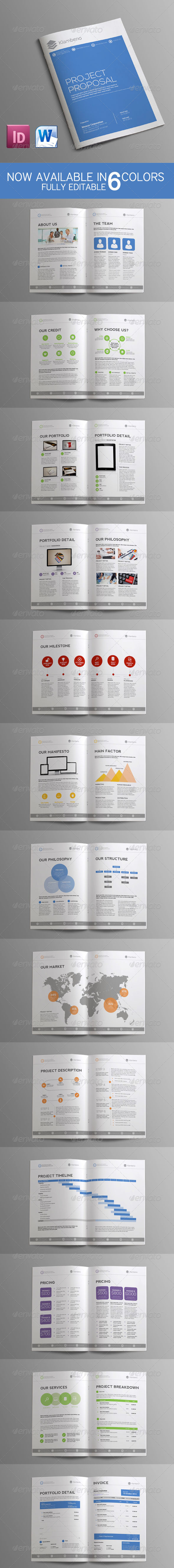 Sleman Clean Proposal Template Volume 6 - Proposals & Invoices Stationery
