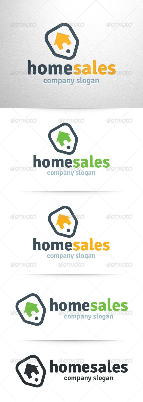 GraphicRiver Home Sales Logo 6436767