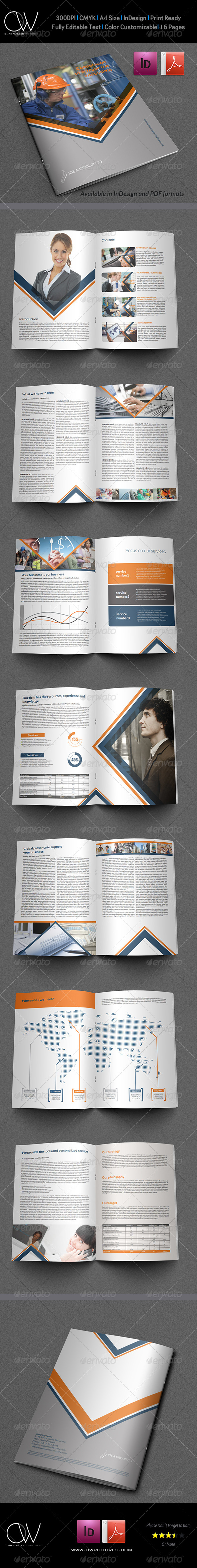 GraphicRiver Company Brochure Template Vol.16 16 Pages 6436952