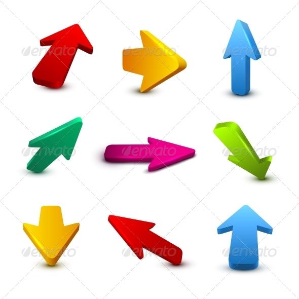 GraphicRiver Arrows 6436969