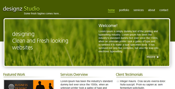 Fresh Green Business Template - Business Corporate