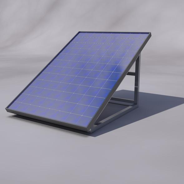 3DOcean Solar Panel 6437502
