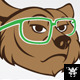 Geek Bear Logo - GraphicRiver Item for Sale
