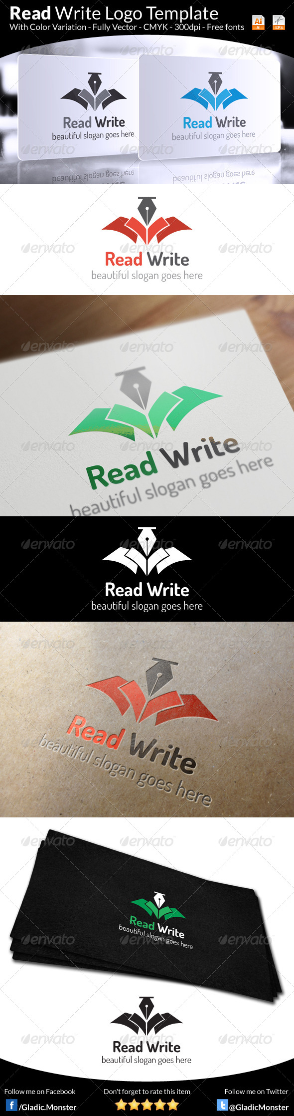 Education Institute Logo - Symbols Logo Templates