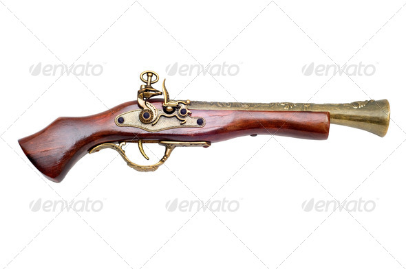Pistol - Stock Photo - Images