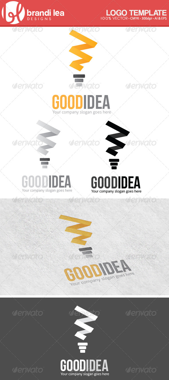Good Idea - Abstract Logo Templates