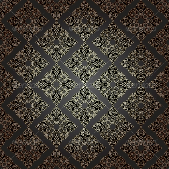 GraphicRiver Seamless Pattern in Mosaic Ethnic Style 6441013