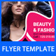 Beauty and Fashion Flyer Template - GraphicRiver Item for Sale