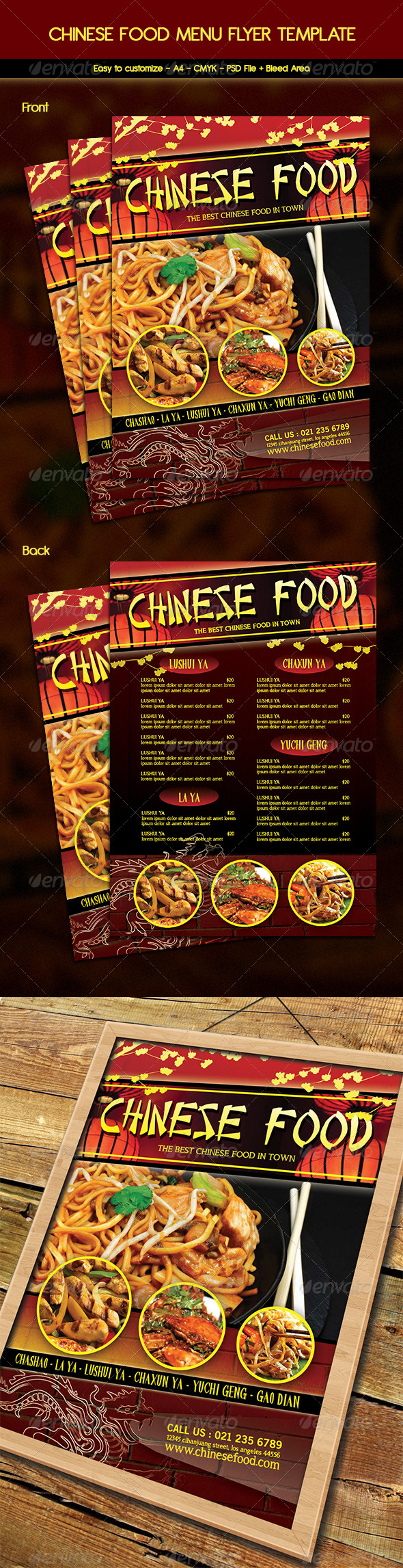 GraphicRiver Chinese Food Menu Flyer 6442955