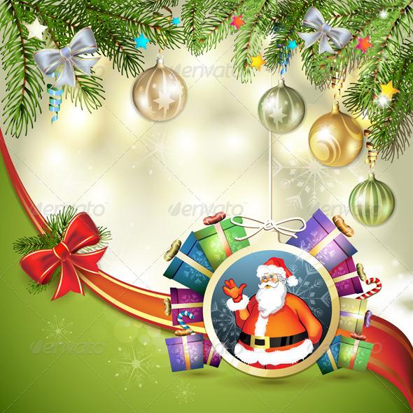 GraphicRiver Christmas Card 6443592
