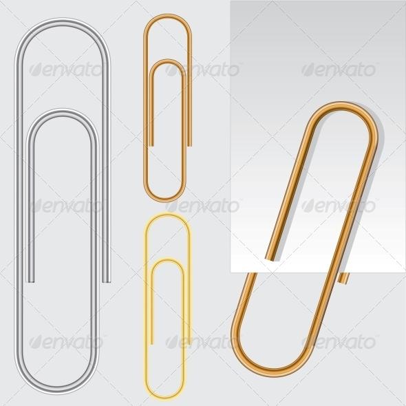 GraphicRiver Paper Clip 6444535