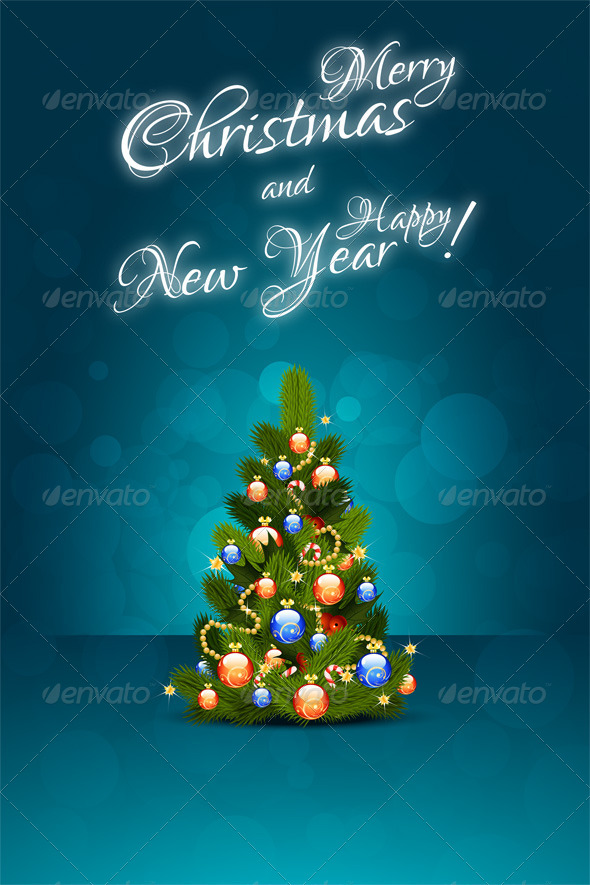 GraphicRiver Christmas Card 6445045