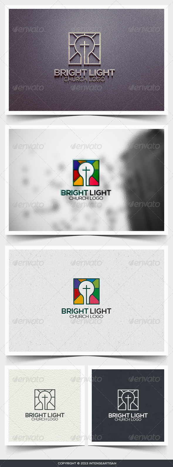 GraphicRiver Bright Light Logo Template 6445798